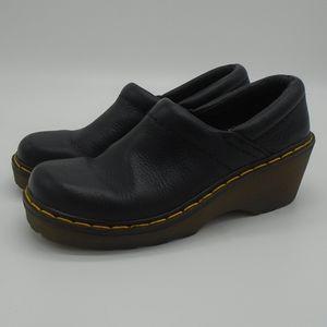 Dr. Martens Womens Black Clog Sandal Size 4